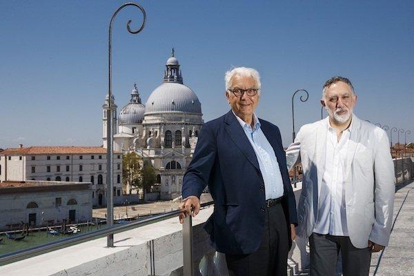 Hashim Sarkis e Paolo Baratta-17 Mostra internazionale di Architettura, Venezia