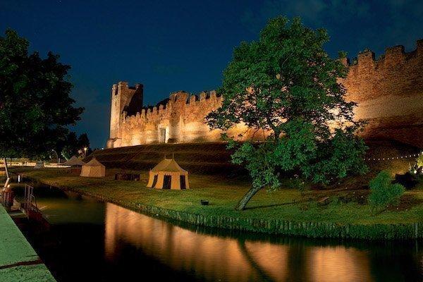 Illuminazione Castello Castel Franco Veneto