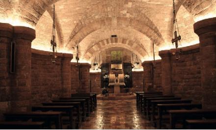 Cripta Basilica san francesco assisi