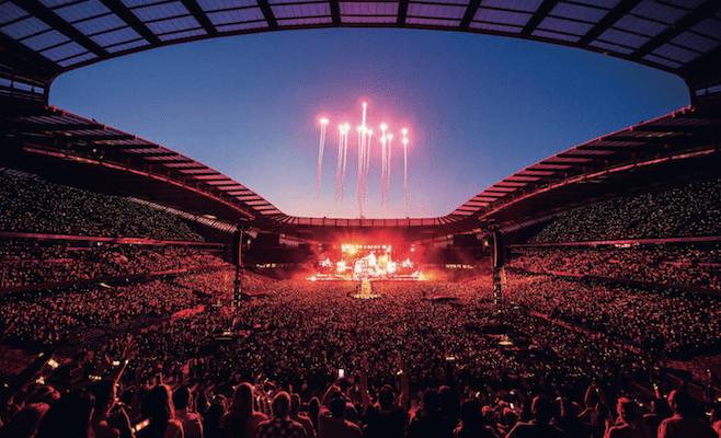 concerto Coldplay, 2016