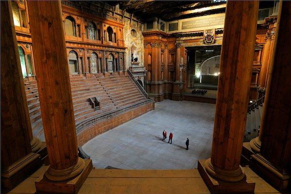 Parma, Palazzo della Pilotta. Teatro Farnese.