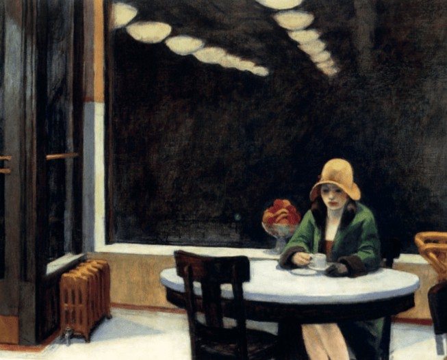 Edward Hopper, Automat, 1927,