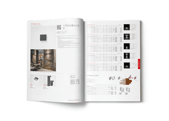 catalogo performance in lighting