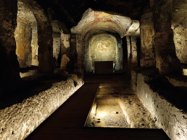 The environment of the church-mithraeum