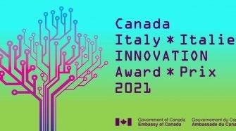 Canada Italia premio per l'innovazione