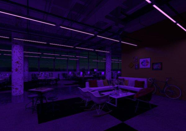 Ufficio,notte