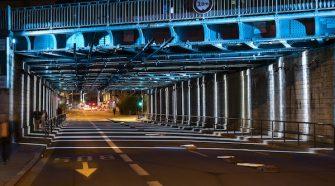 Lione, Pont rail Emeraudes