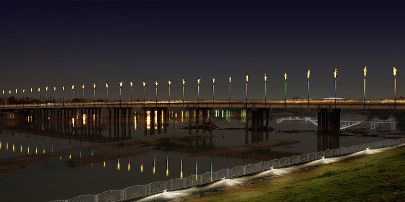 Ahvaz Energy Bridge